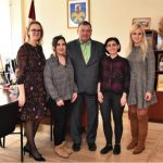 Meeting with mayor of Jelgava county and youth affairs specialist
