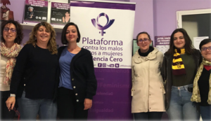 "Meeting with the platform ""Plataforma Contra los Malos TratosViolencia Cero"""